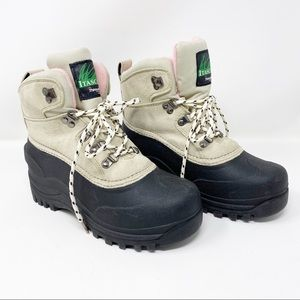 Itasca Lusten Thinsulate Grey/Pink Winter Boot 7